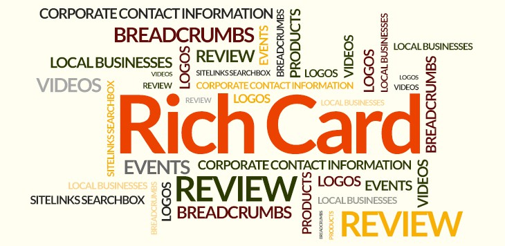 Introduction to the new rich card features in Google Webmaster