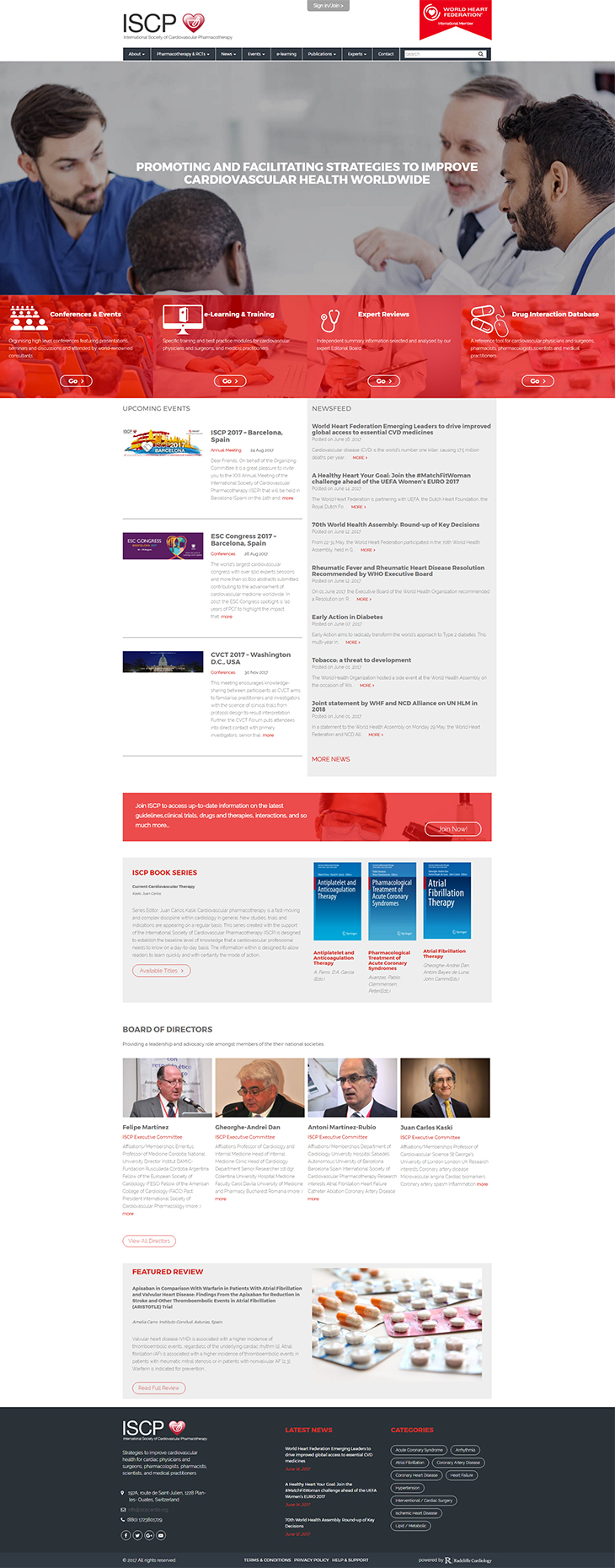 International Society of Cardiovascular Pharmacotherapy - WordPress