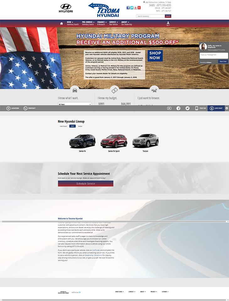 Texoma Hyundai Portfolio