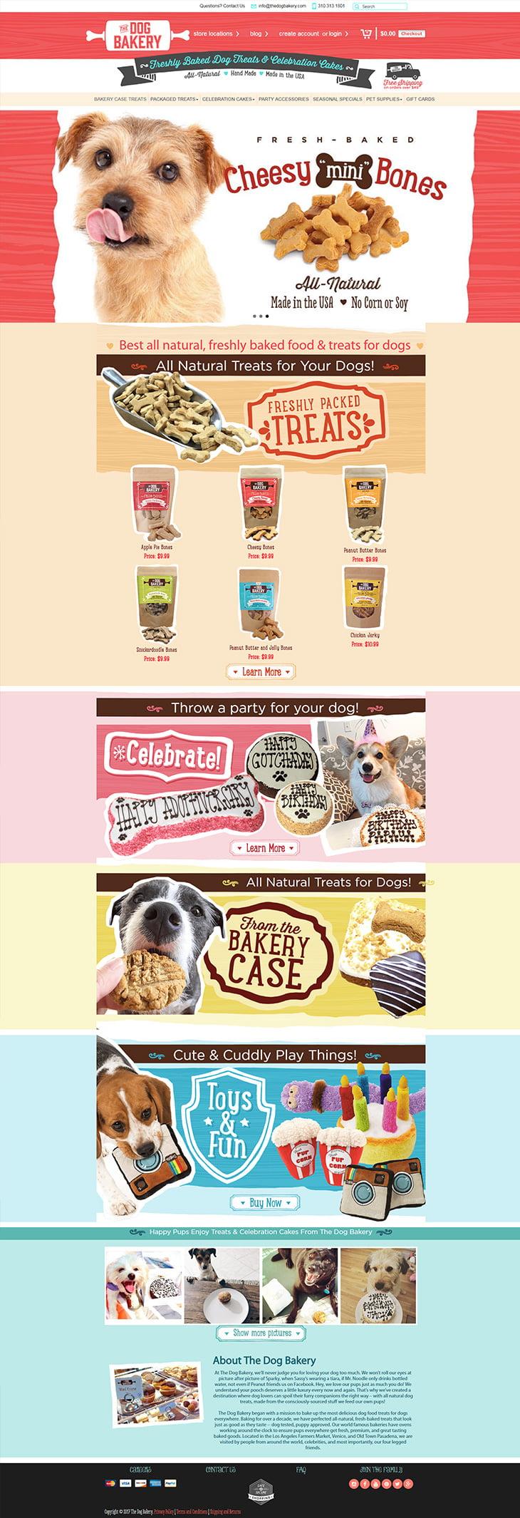 The Dog Bakery Portfolio – Shopify
