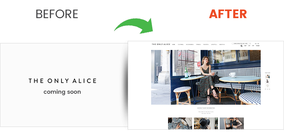 The Only Alice – Magento