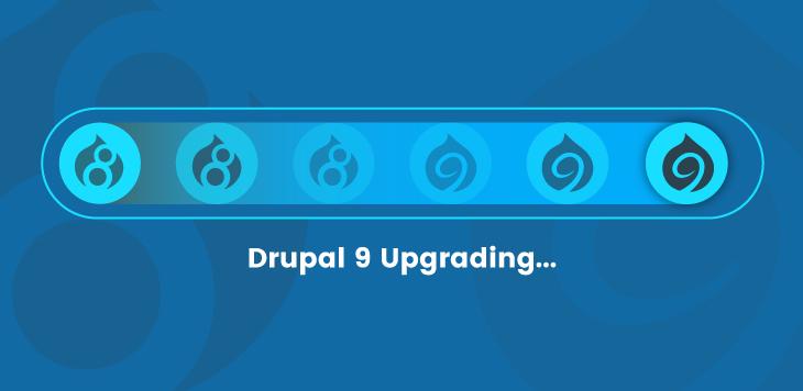 Drupal 9 Upgrade service