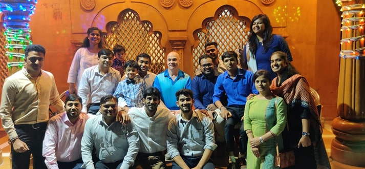Our Client - Cliff Visits India and meets Atlas & Family