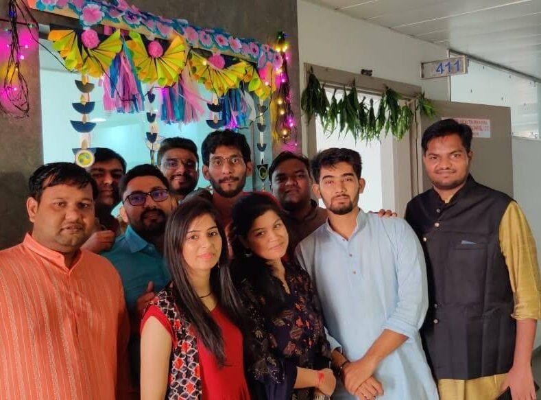 Team during Festivals